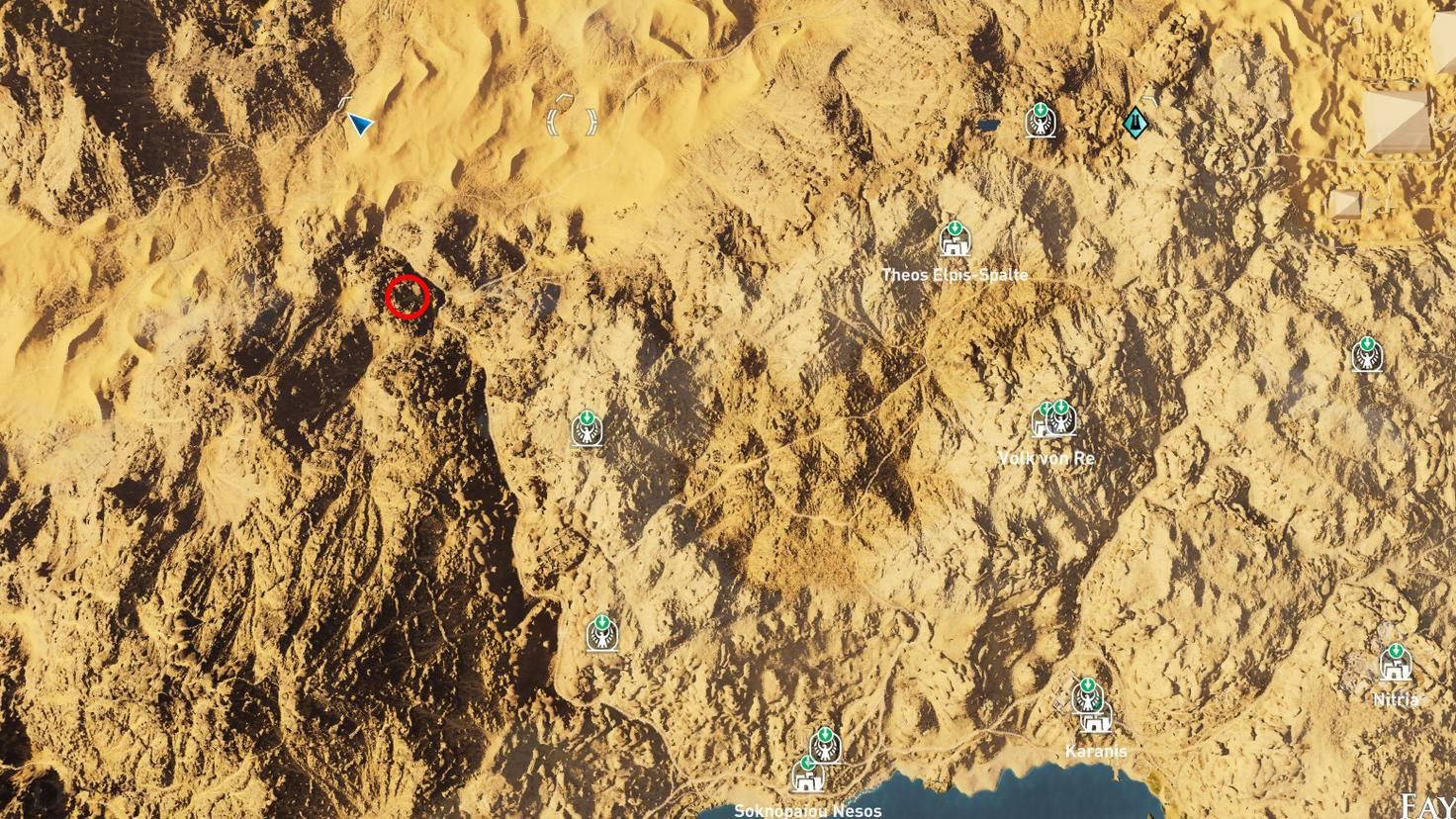 Assassin's Creed: Origins - Steinkreis des Ziegenfischs