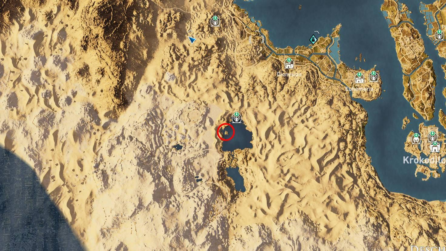 Assassin's Creed: Origins - Steinkreis der Zwillinge