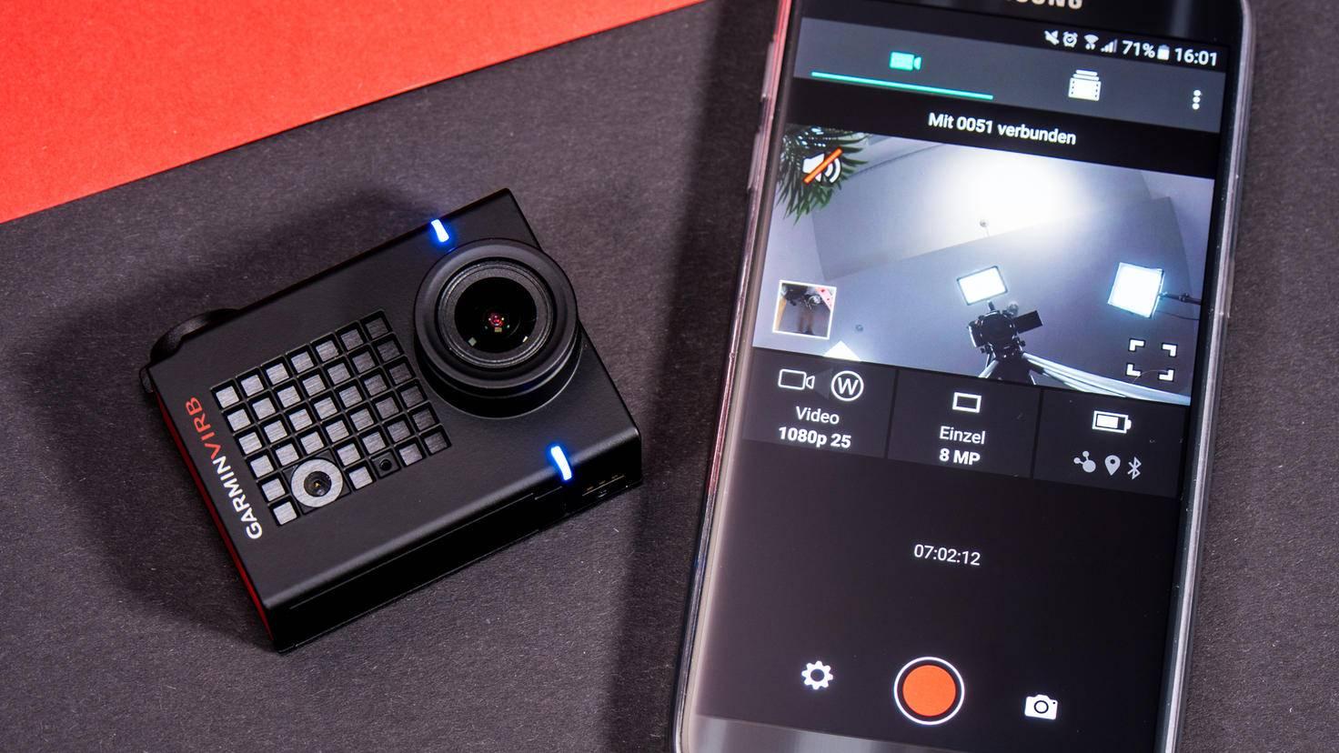 Die Anwendung liefert unter anderem ein Live-View-Bild.
