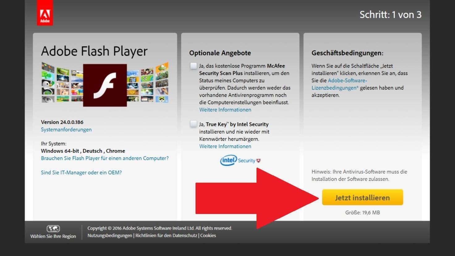 Adobe Flash Player Plugin