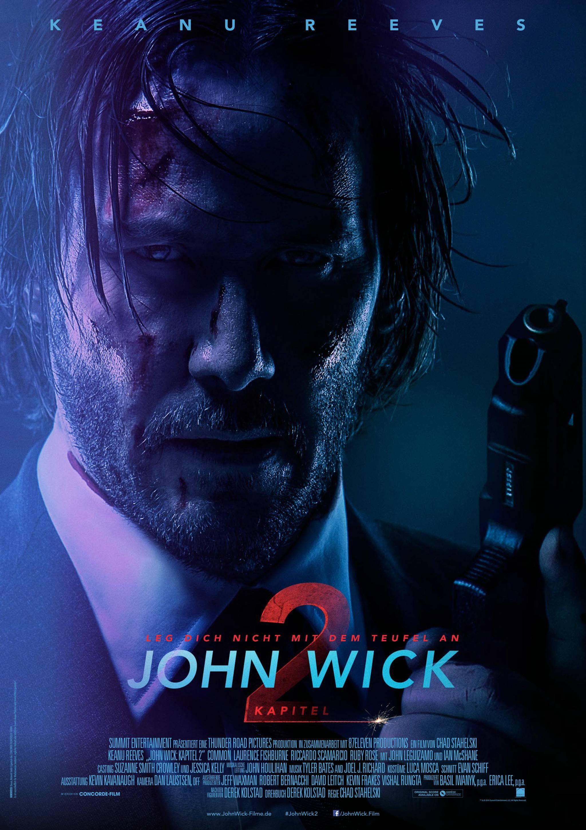 """Keanu Reeves muss in """"John Wick: Kapitel 2"""" offenbar wieder ordentlich was einstecken."""