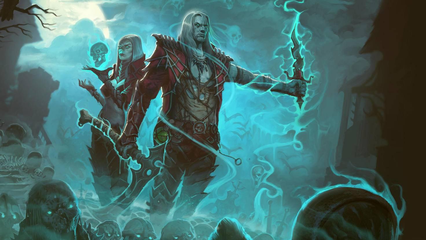 """Wenn Insider-Gerüchte stimmen, könnte """"Diablo 3"""" auf der Switch auch den """"Totenbeschwörer""""-DLC mitbringen."""