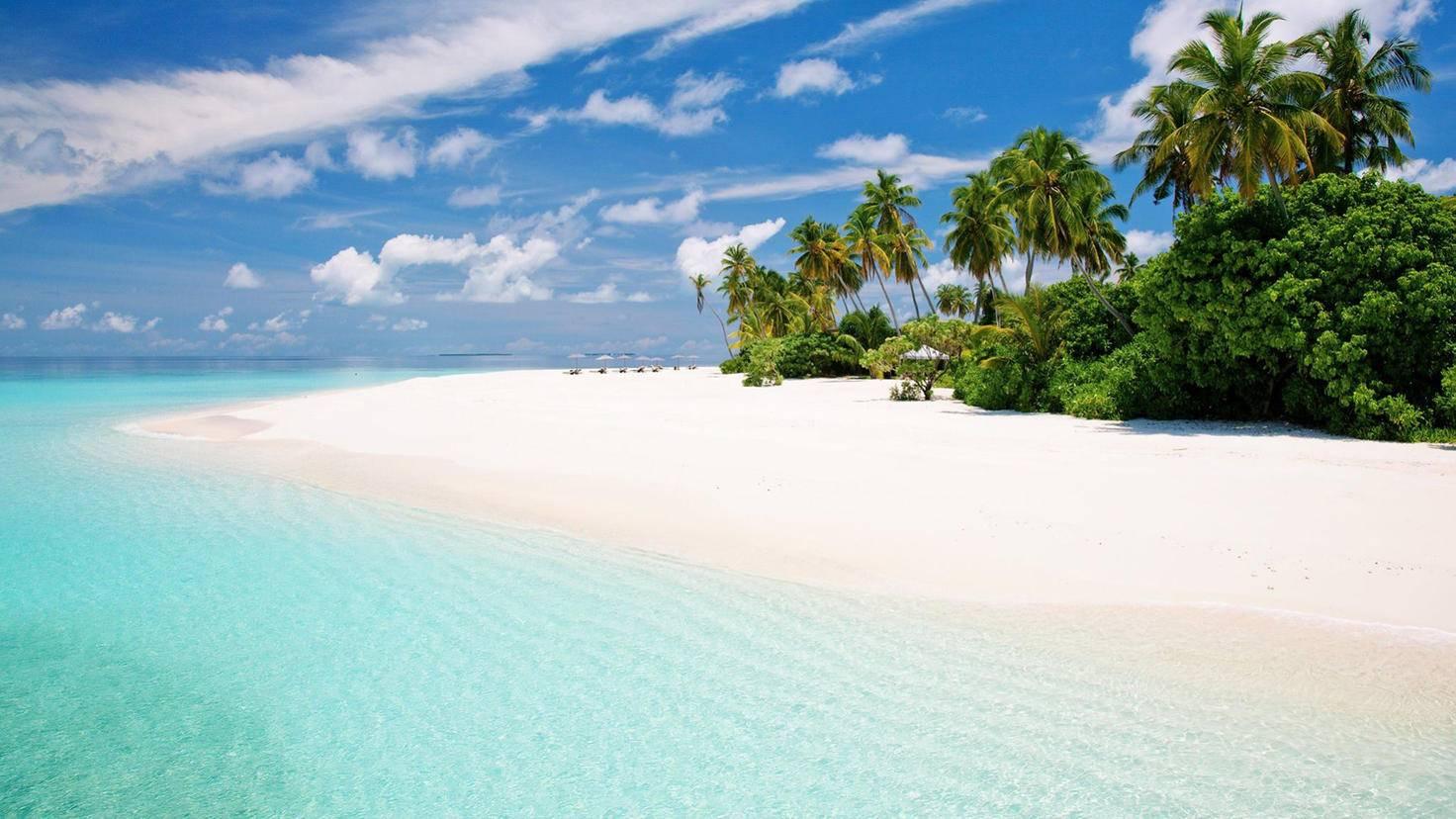 Viel zu schade für das Imperium: Die Malediven stehen für den Planeten Scarif.