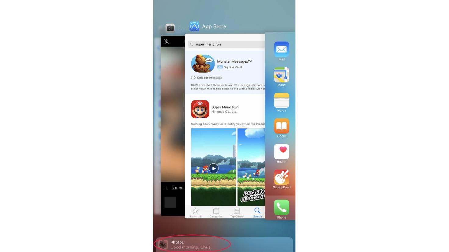 iOS 10 App-Vorschläge