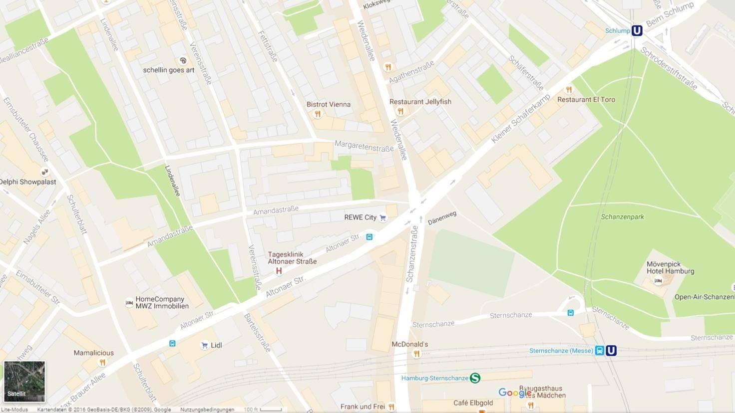 Daten-Google-Maus-Satellitenbilder