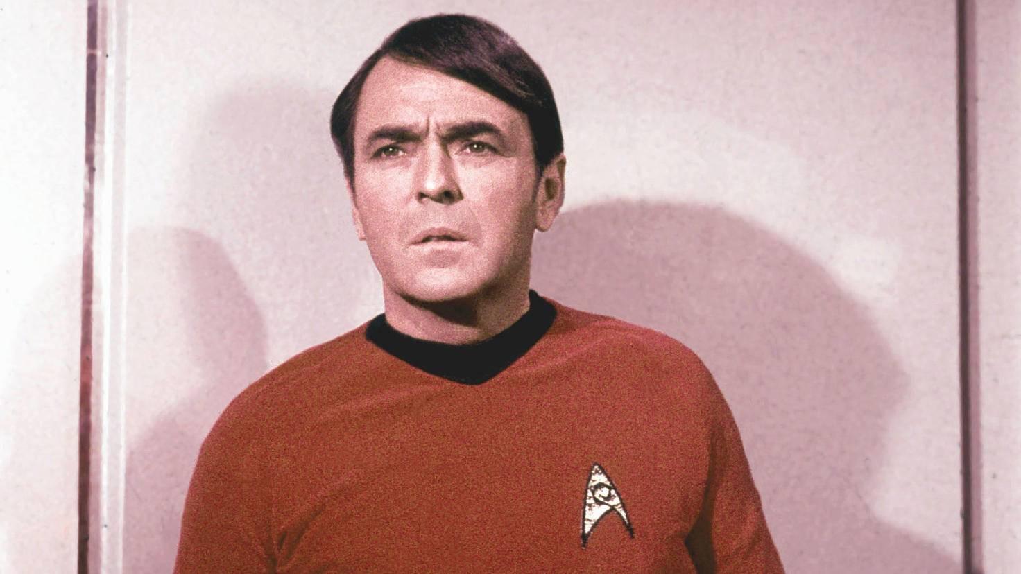 James Doohan verkörperte als Erster den Chefingenieur Montgomery Scott an Bord der Enterprise.