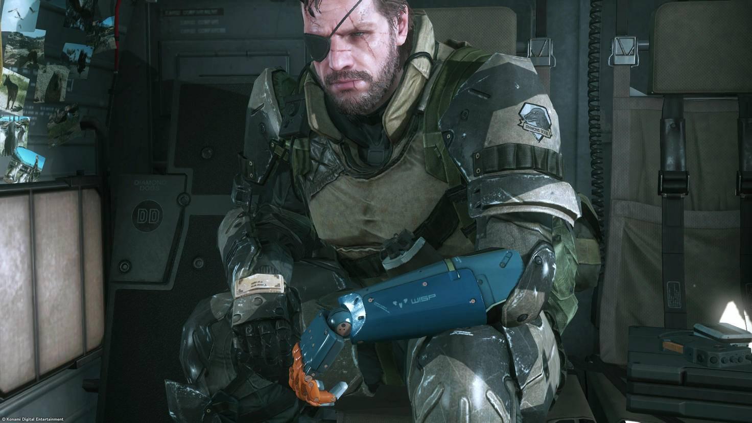 Metal Gear Solid Phantom Pain Big Boss