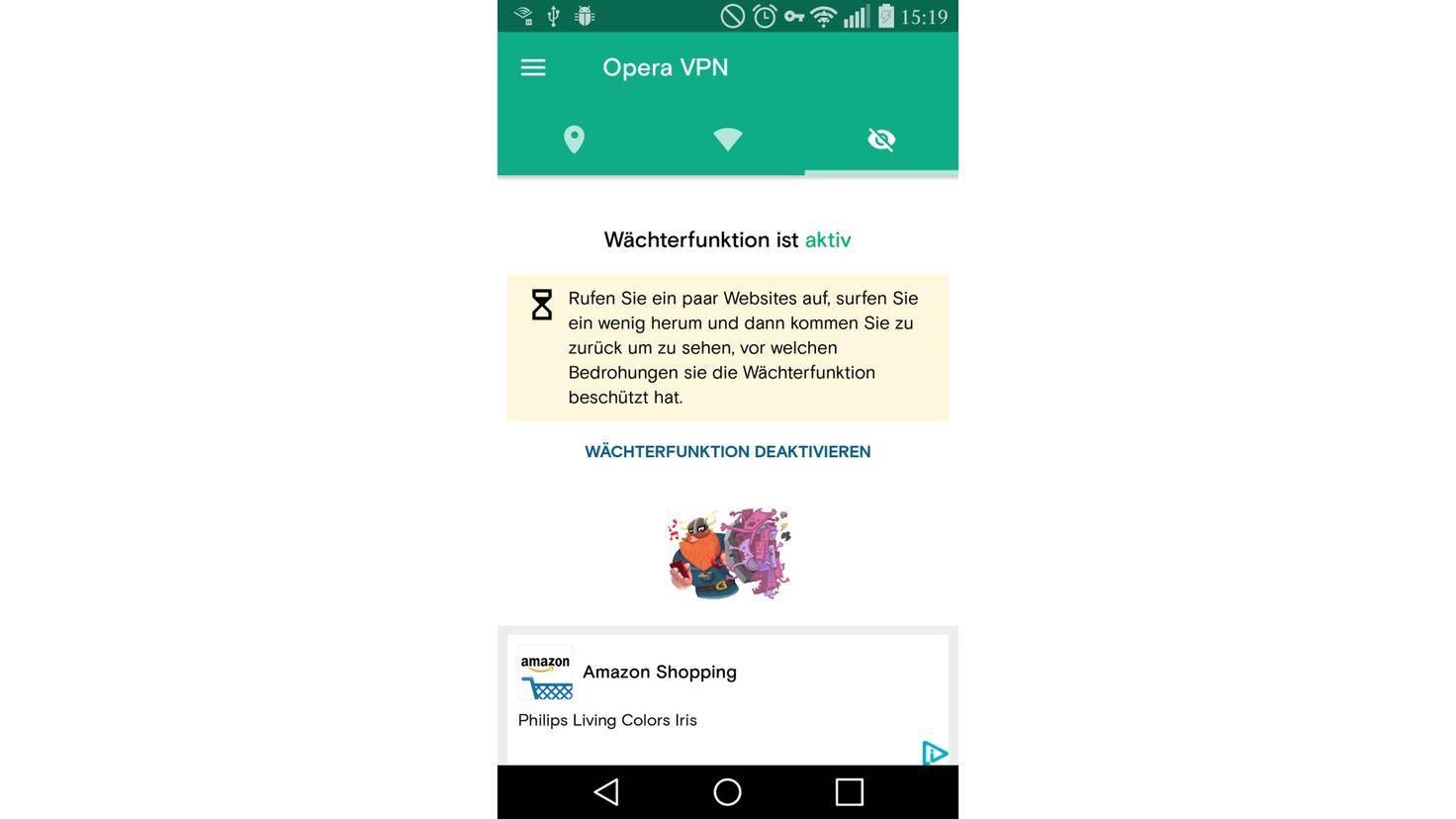 Opera VPN Smartphone
