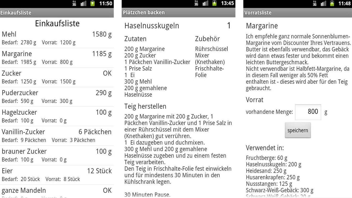 Plätzchen backen-Google PlayStore-Uwe Gerdes