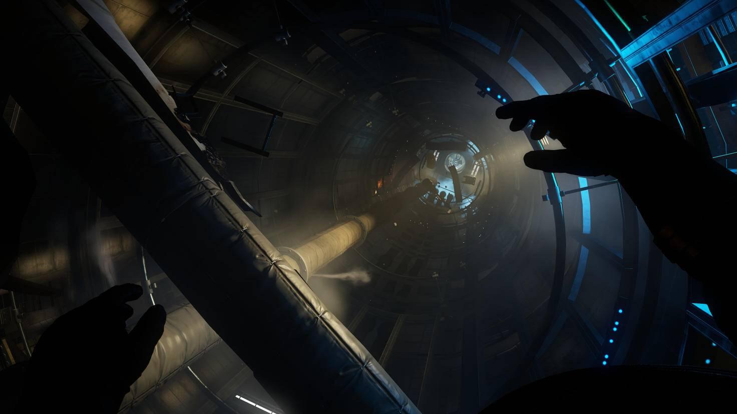 """Um in """"Prey"""" alle Teile der Raumstation zu erreichen, müssen wir durch Schwerelosigkeit manövrieren."""