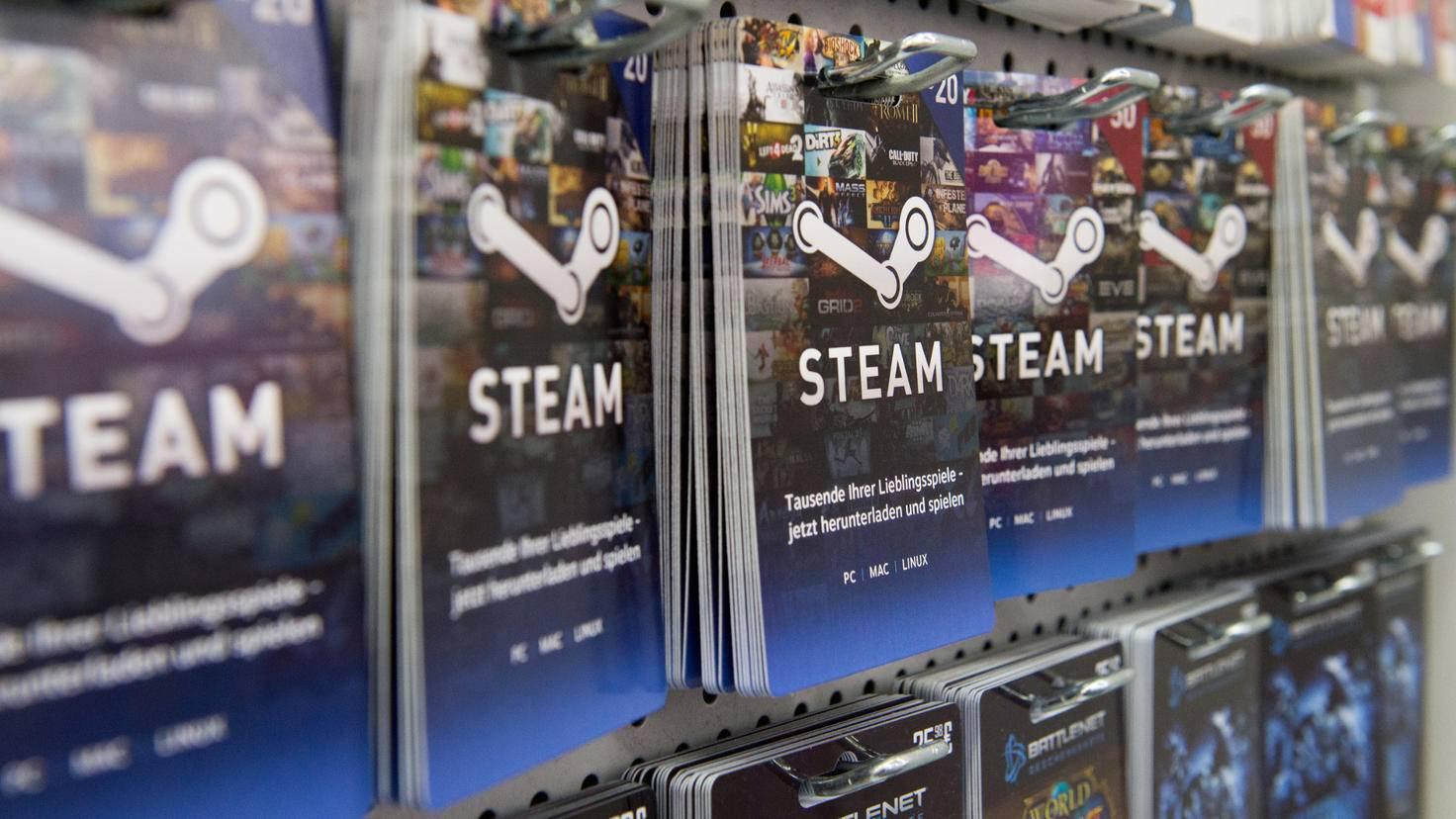 Steam Geschenkkarte