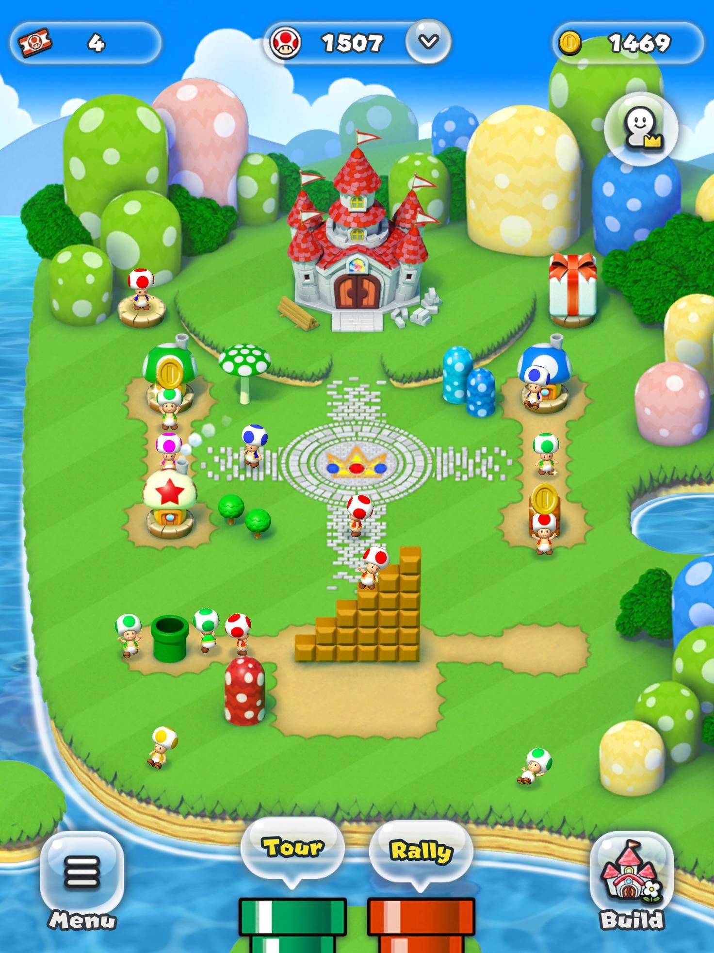 Super Mario Run Königreich