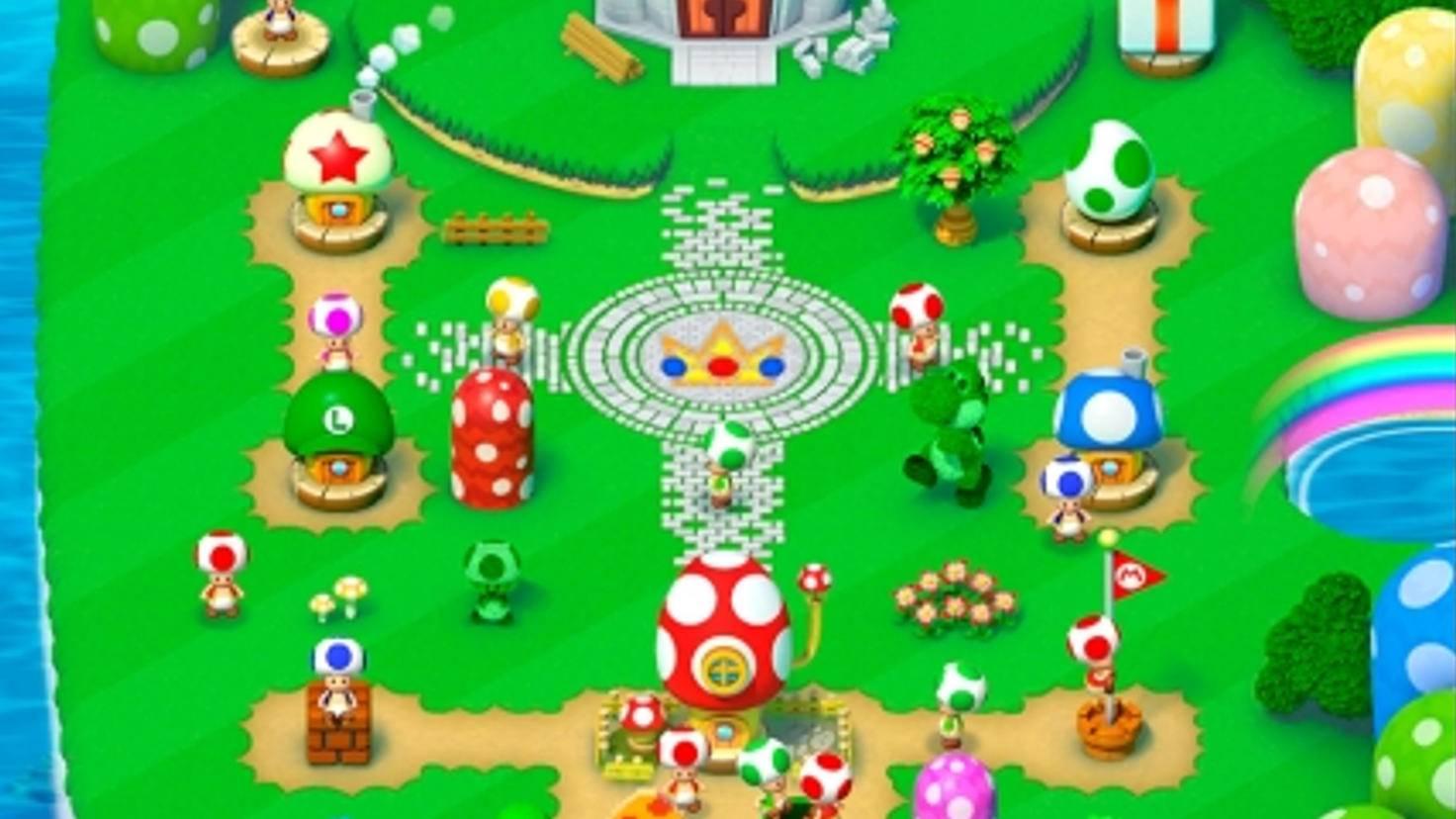 Super Mario Run Regenbogen Brücke