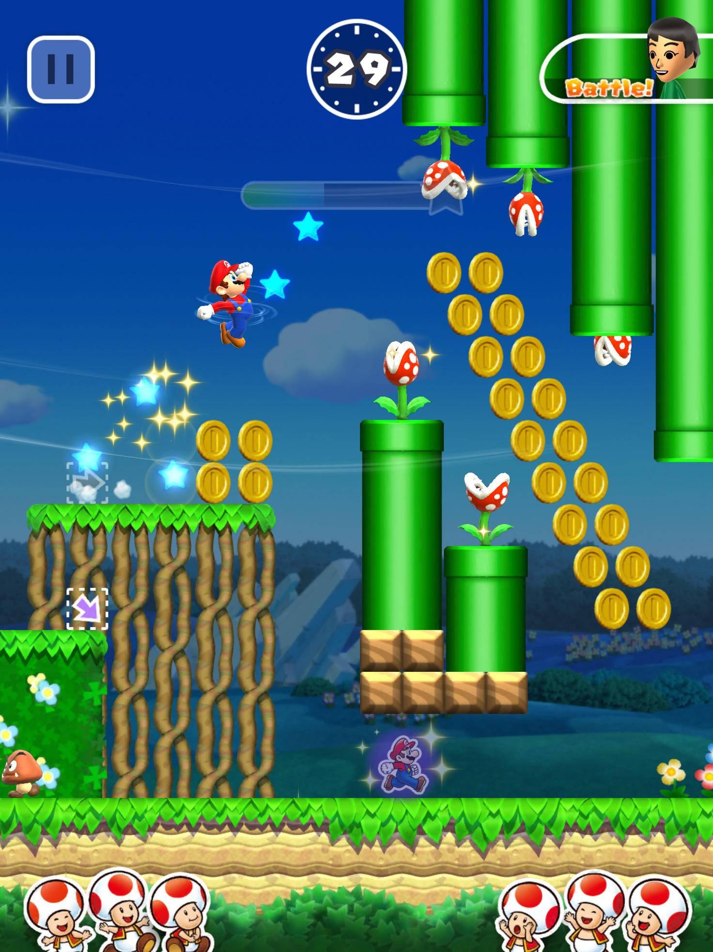 Super Mario Run Toad Rally