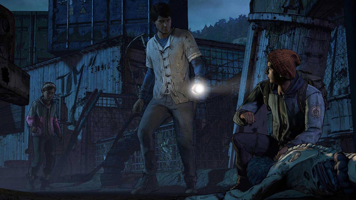 Telltale The Walking Dead Junkyard