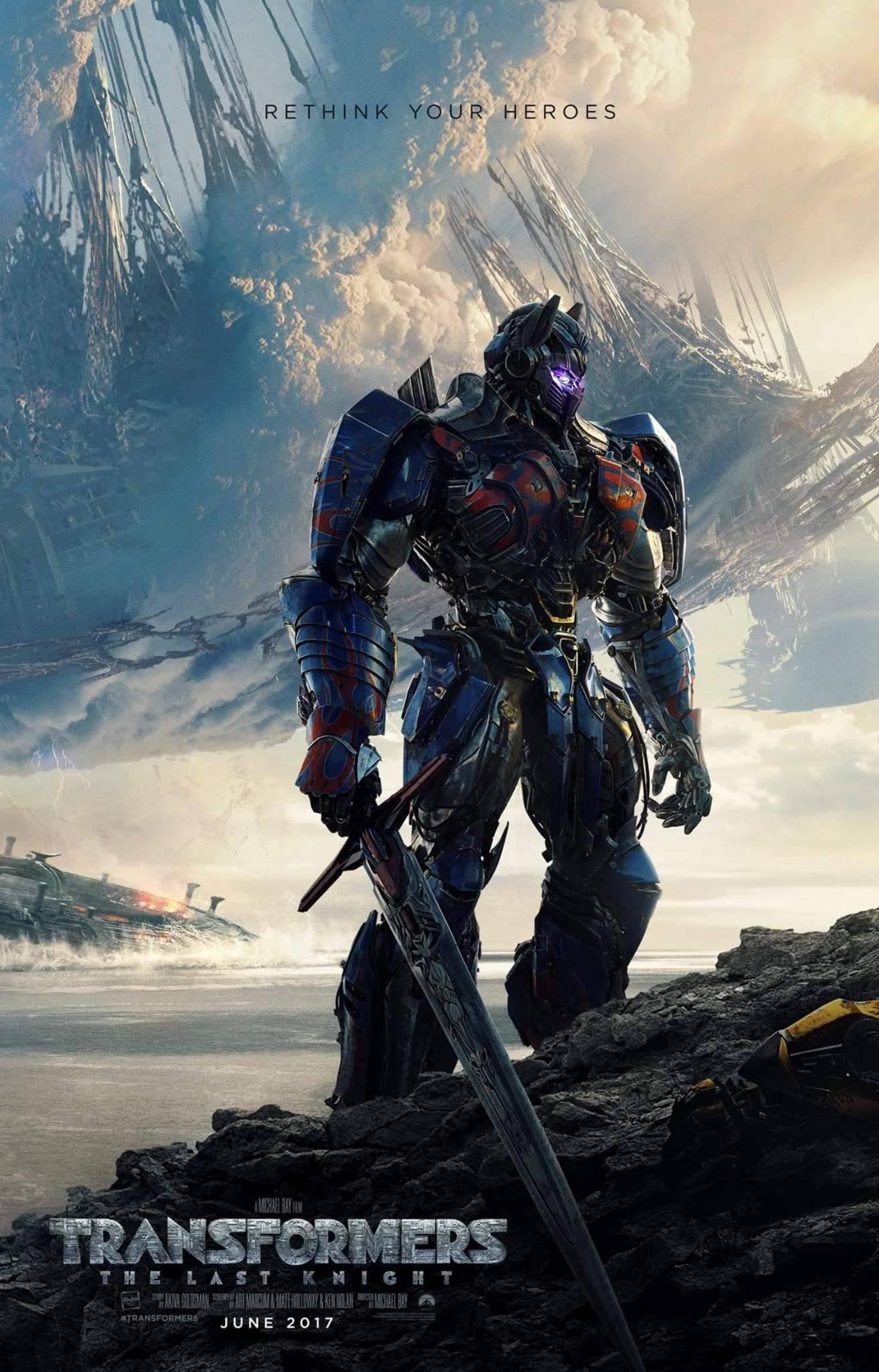 Transformers 5 Poster Optimus Prime