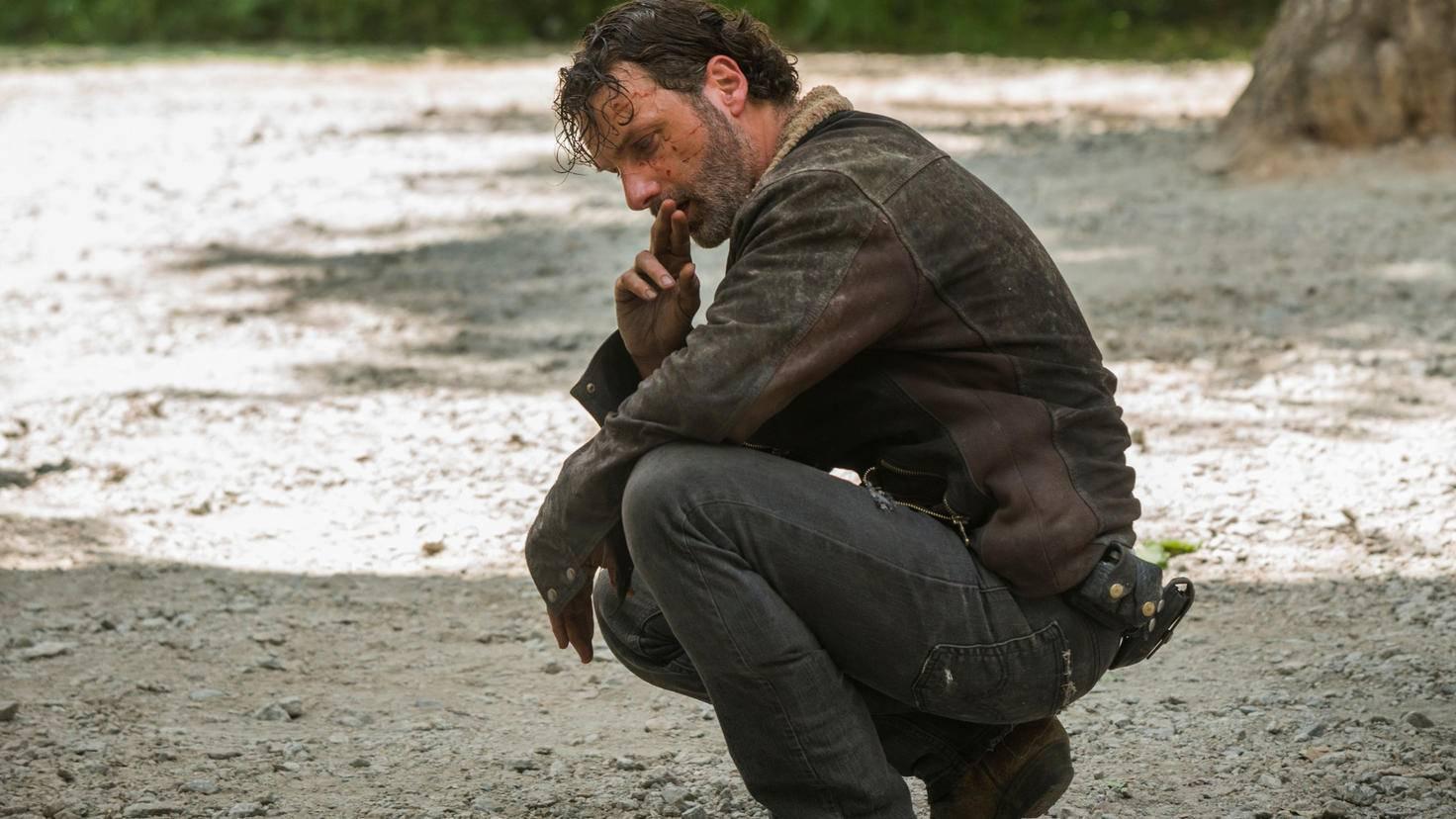 Walking Dead Rick Staffel 7