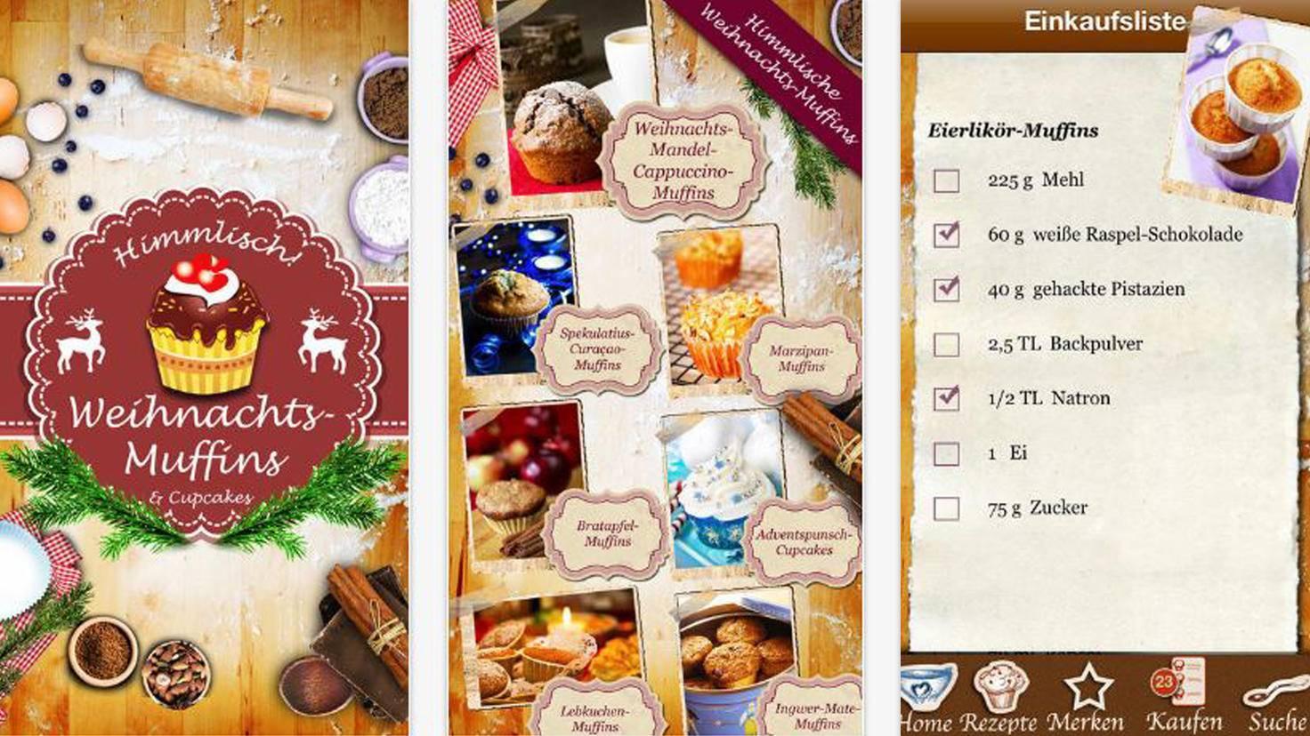 Weihnachts-Muffins und Cupcakes backen-iTunes-Mario Guenther-Bruns