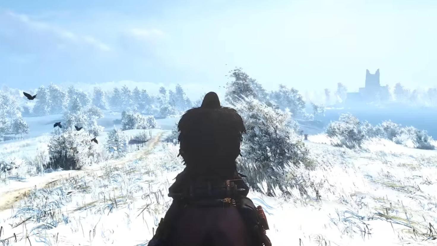 Witcher 3 Schnee