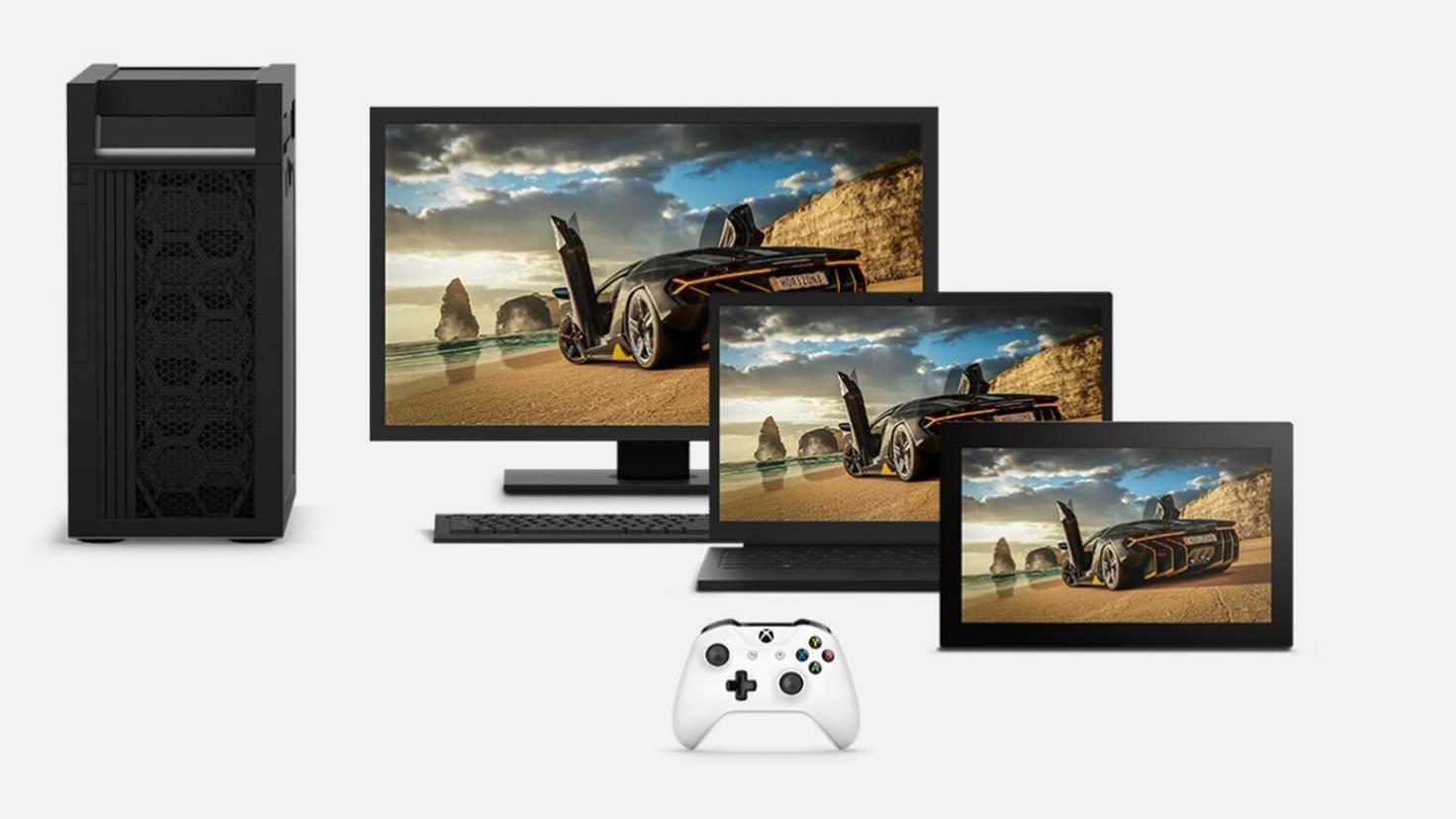 Games im Xbox-Play-Anywhere-Programm musst Du nur einmal kaufen und kannst sie dann auf Xbox One und Windows 10 spielen.