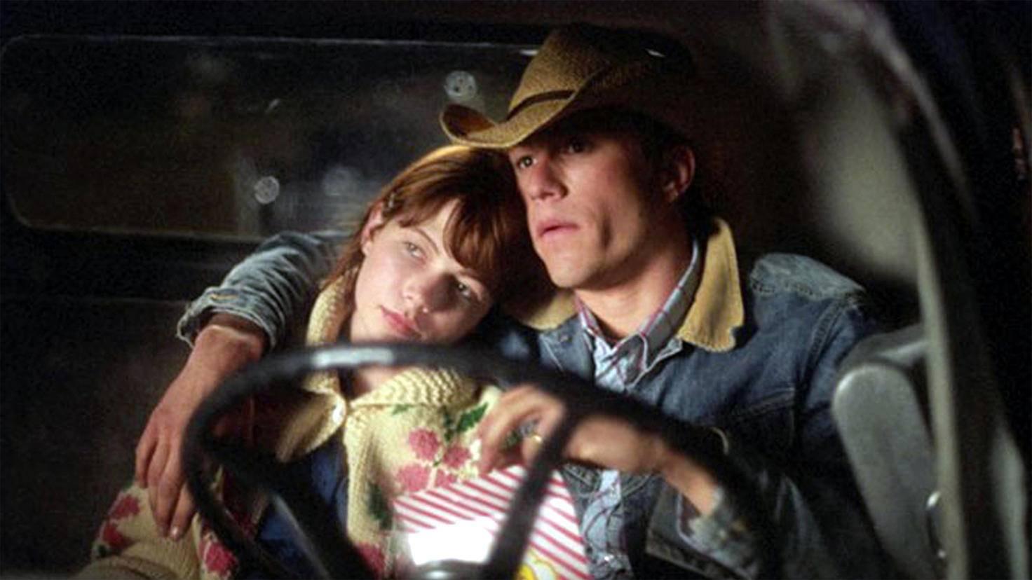 Die Beziehung von Heath Ledger und Michelle Williams war leider nur von kurzer Dauer.