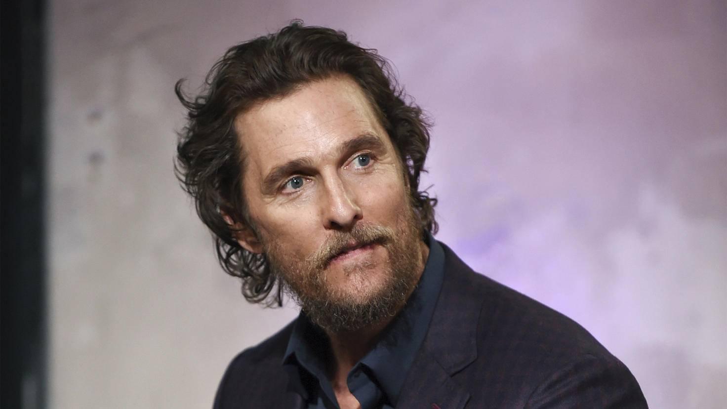 Für eine Rolle als Quoten-Promi war sich Matthew McConaughey zu schade.
