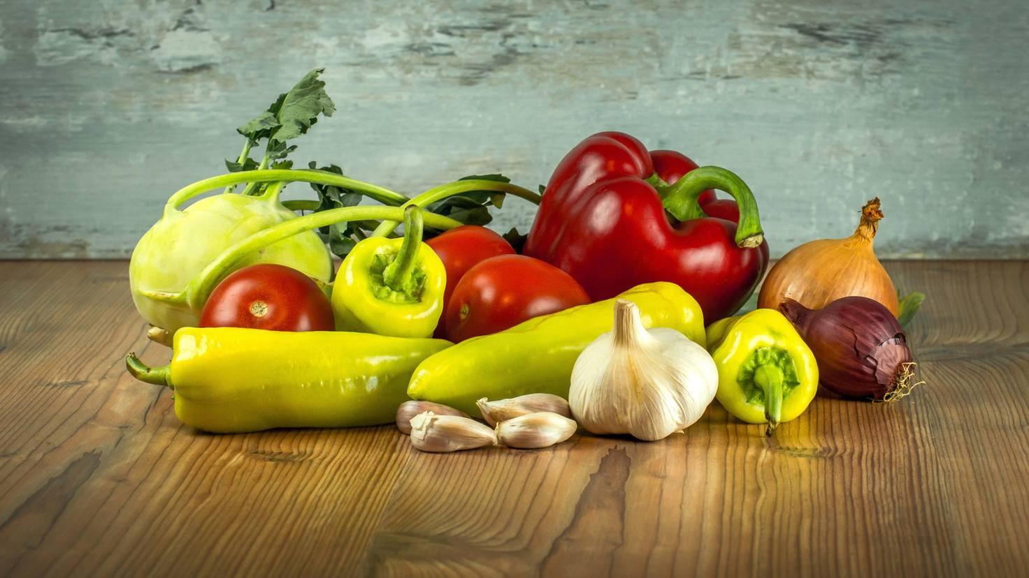 Der Schlüssel zum gesunden Kochen: viel Gemüse!