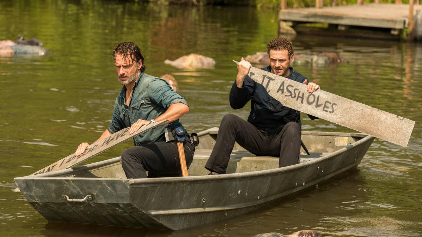 The Walking Dead Rick Aaron