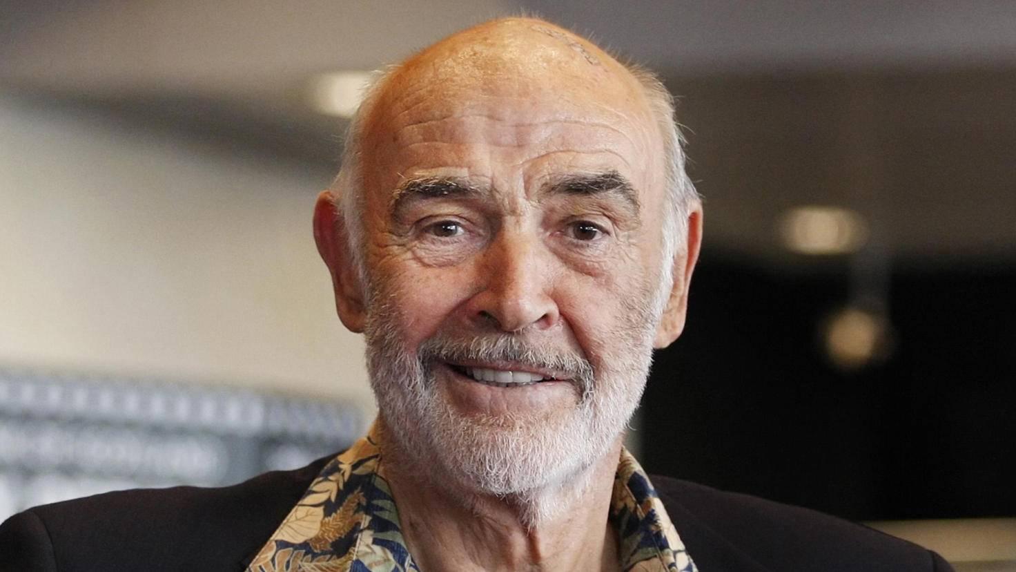 Auch Sean Connery vermisst das Filmgeschäft offenbar nicht.