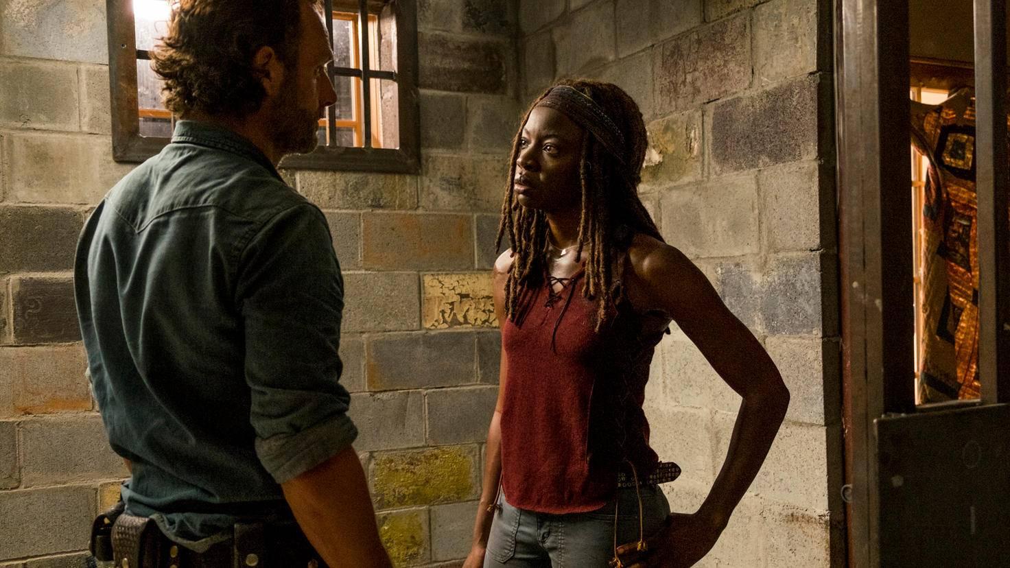 Rick Michonne Walking Dead