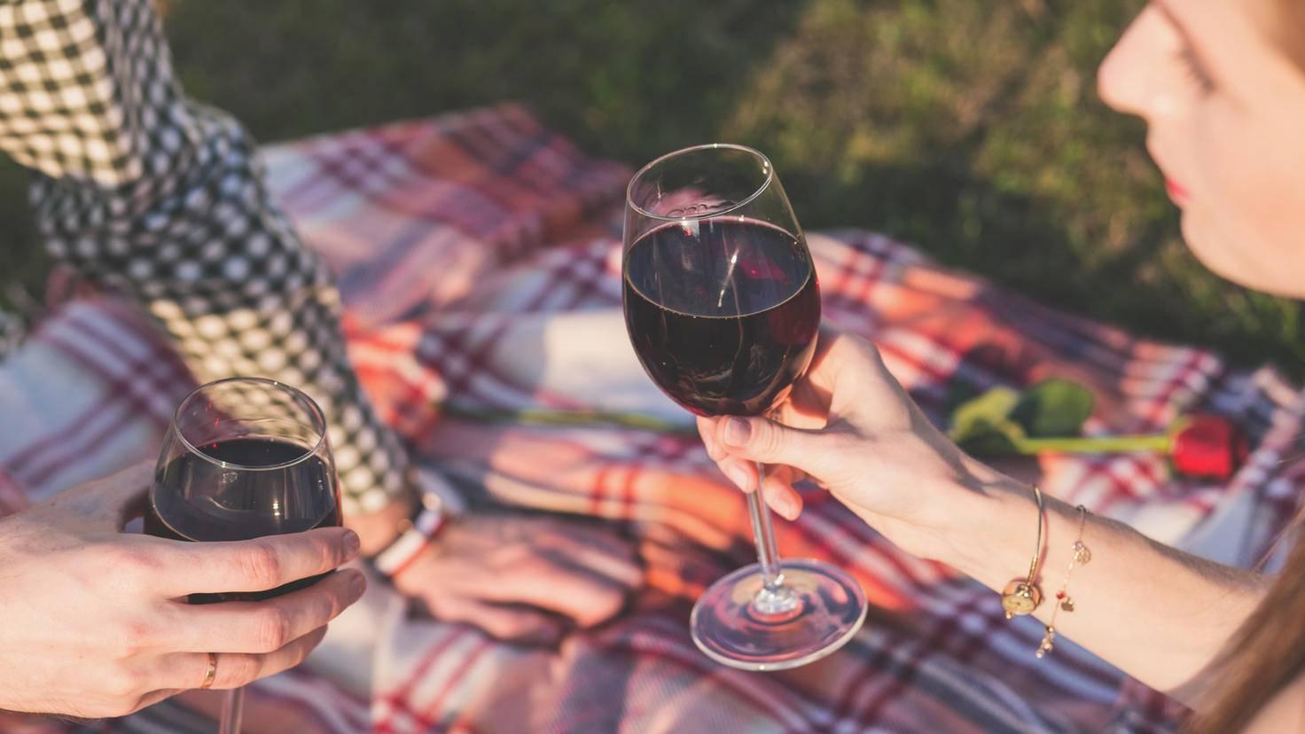 Mit dem Weingenuss sollte man es nicht übertreiben.