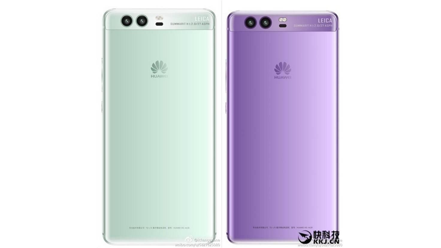 Huawei P10 Render Violett