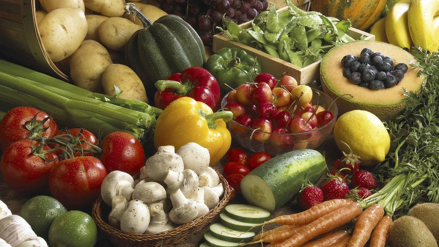 Gemüse sollte ganz oben auf der Einkaufsliste stehen.