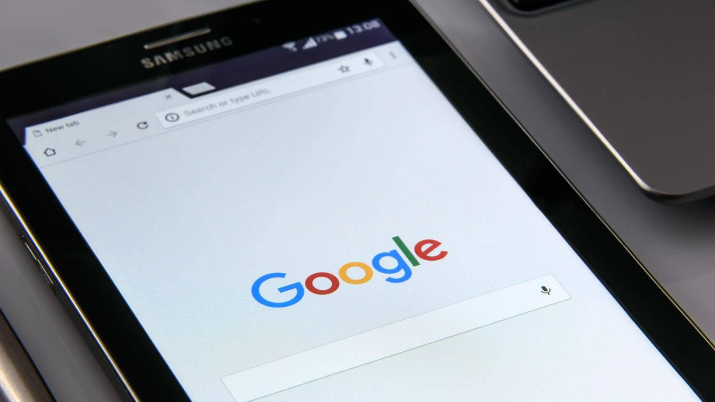 Samsung Google Tablet