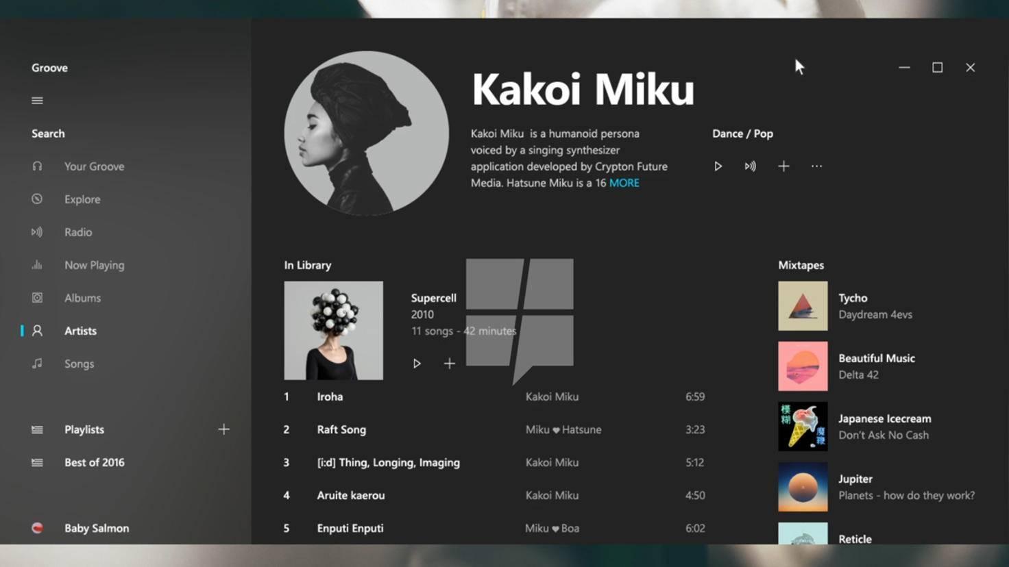 Microsoft experimentiert bei Project Neon mit verschwommenen Designelementen.