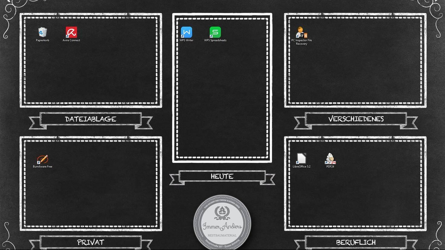 Windows 10 Desktop organisieren
