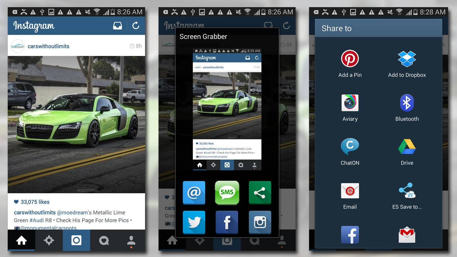 Android Screenshot-Apps