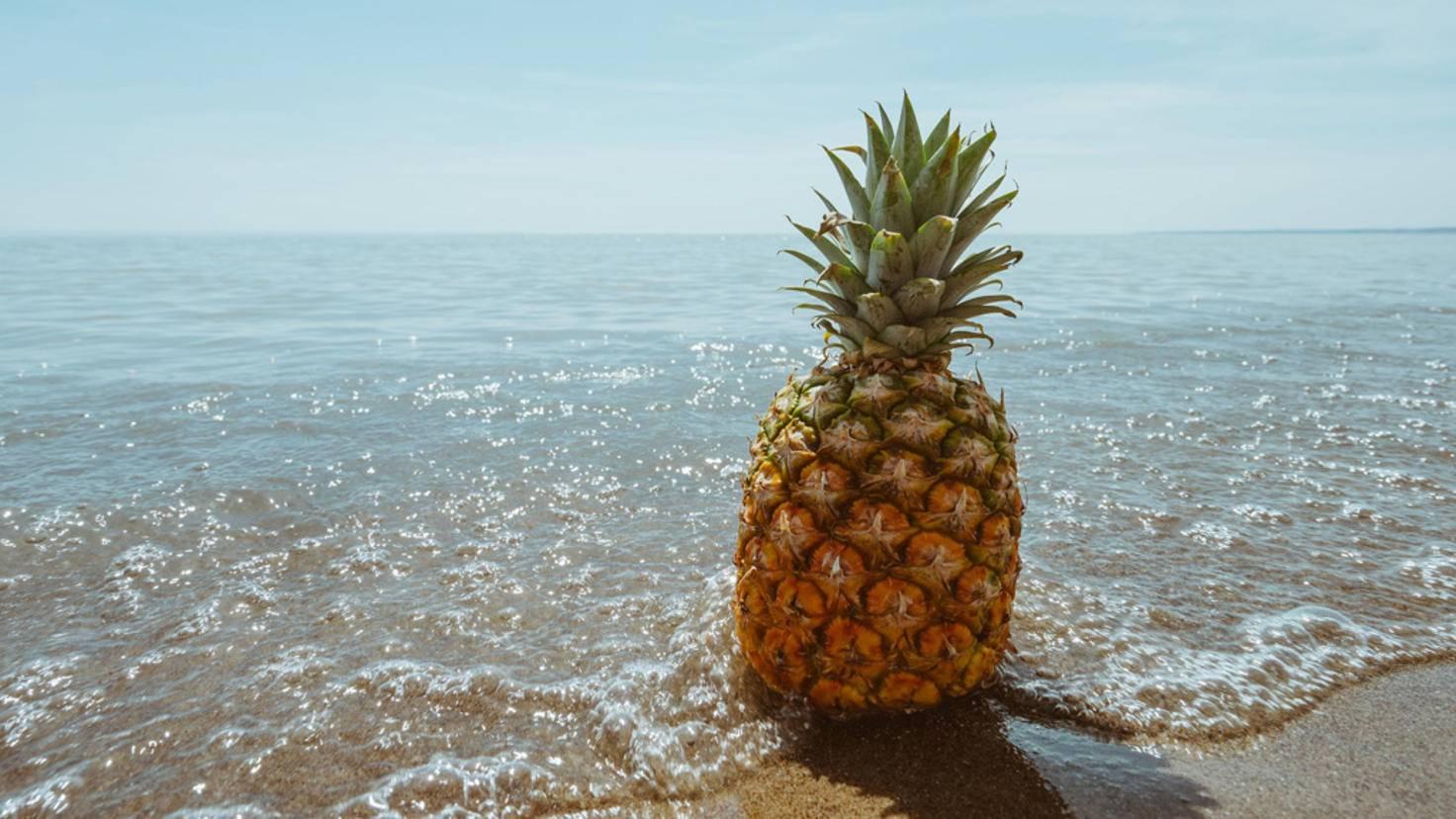 Powerfrucht: Die Ananas leistet unter anderem einen wichtigen Beitrag zum Vitaminhaushalt.