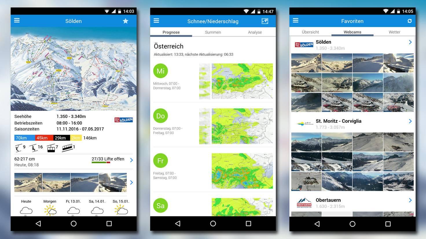 Ski Apps bergfex