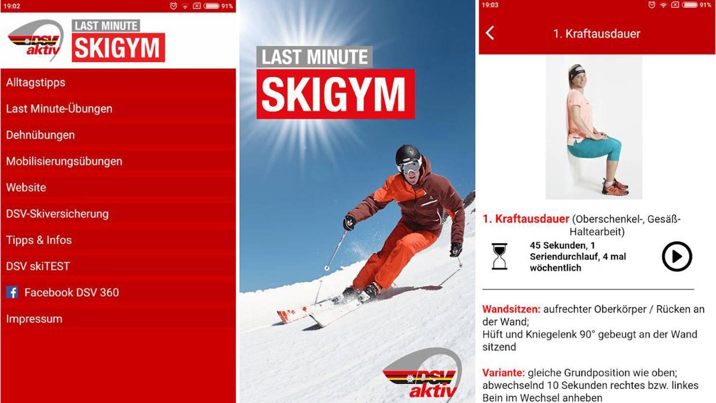 skigym app