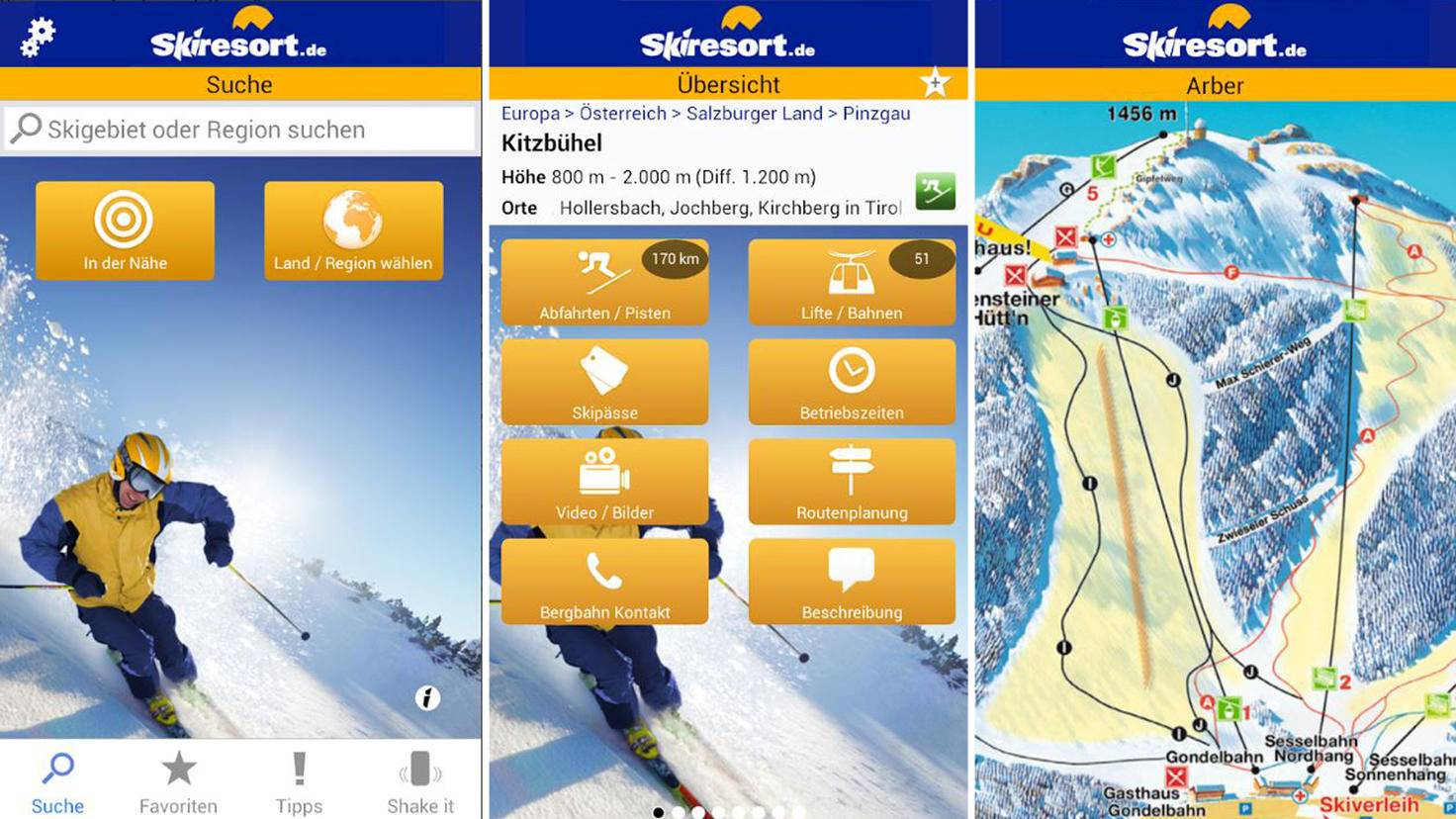 skiresort.de app