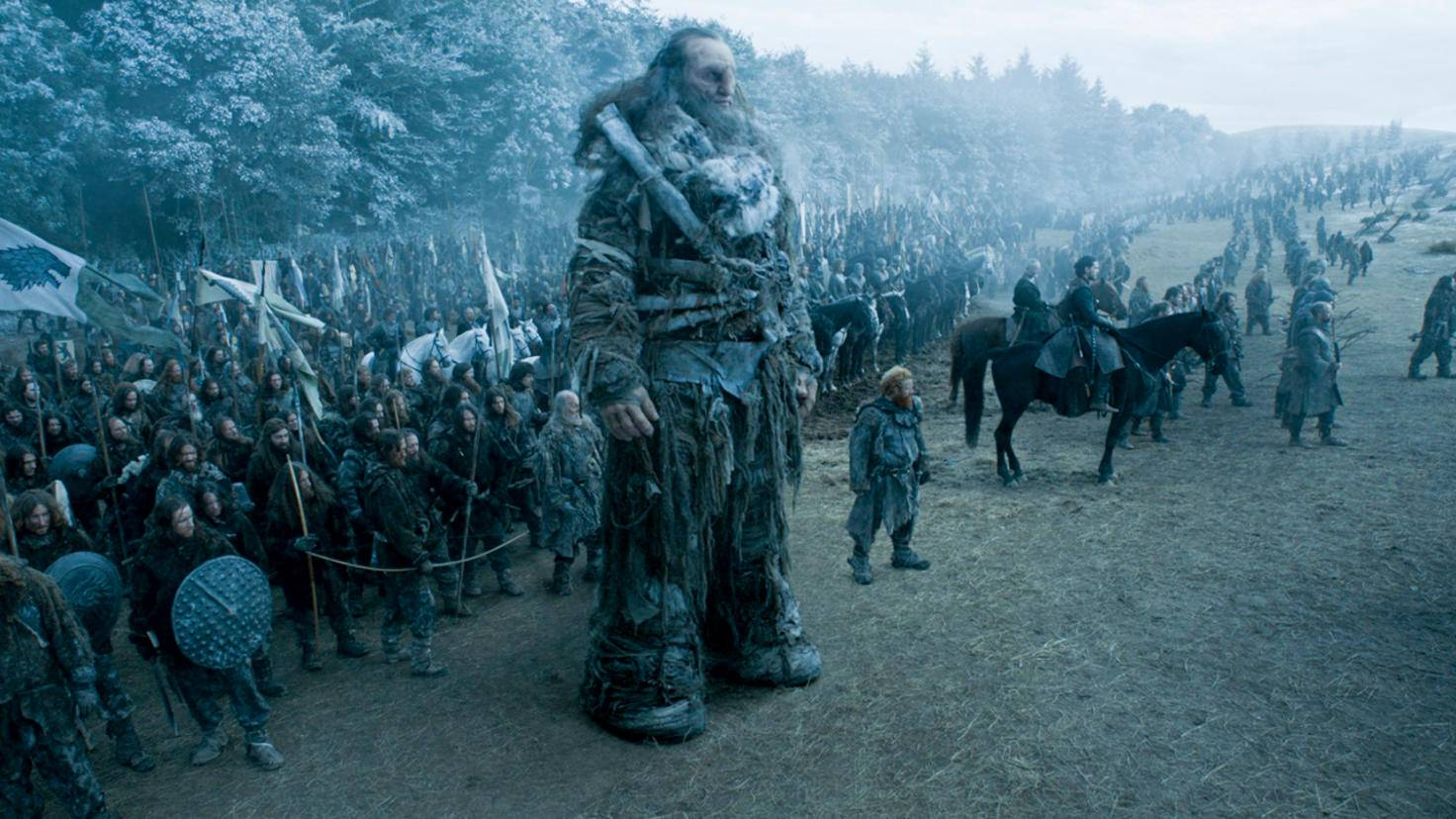 """Spezialist für Großes: Ian Whyte, hier als Riese Wun Wun in """"Game of Thrones"""""""