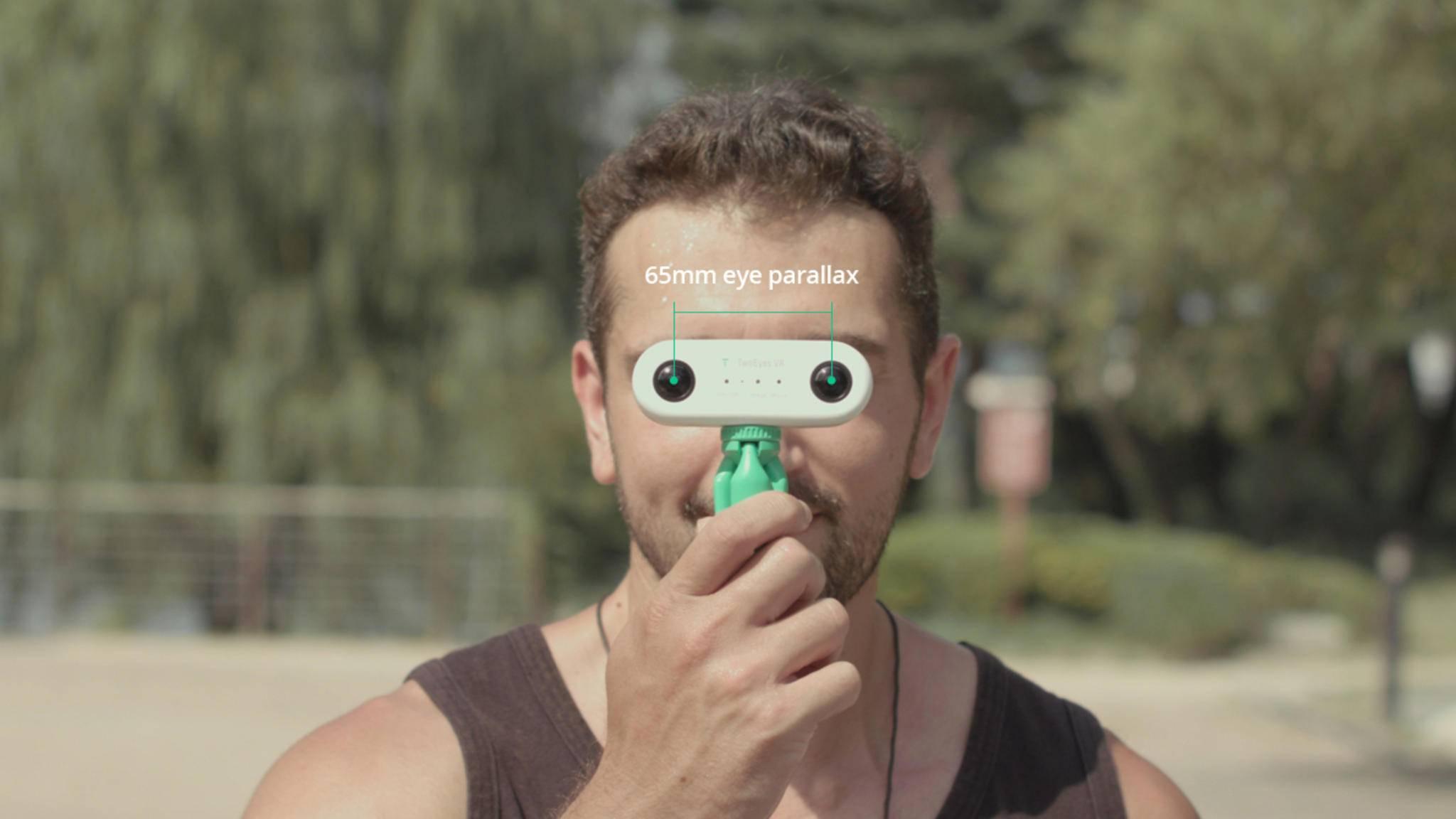 TwoEyes VR-Kamera