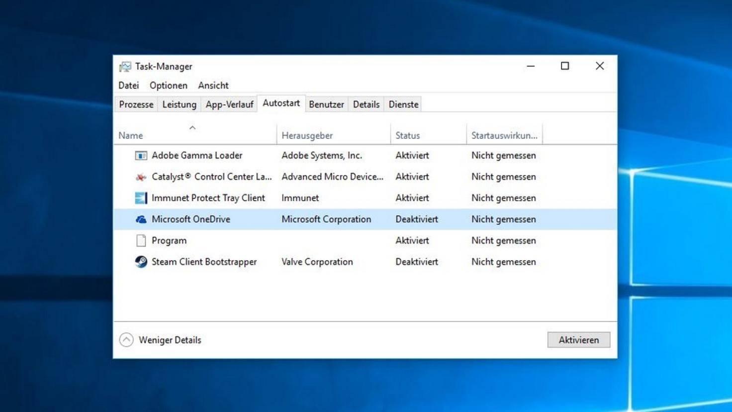 Autostart Windows 10