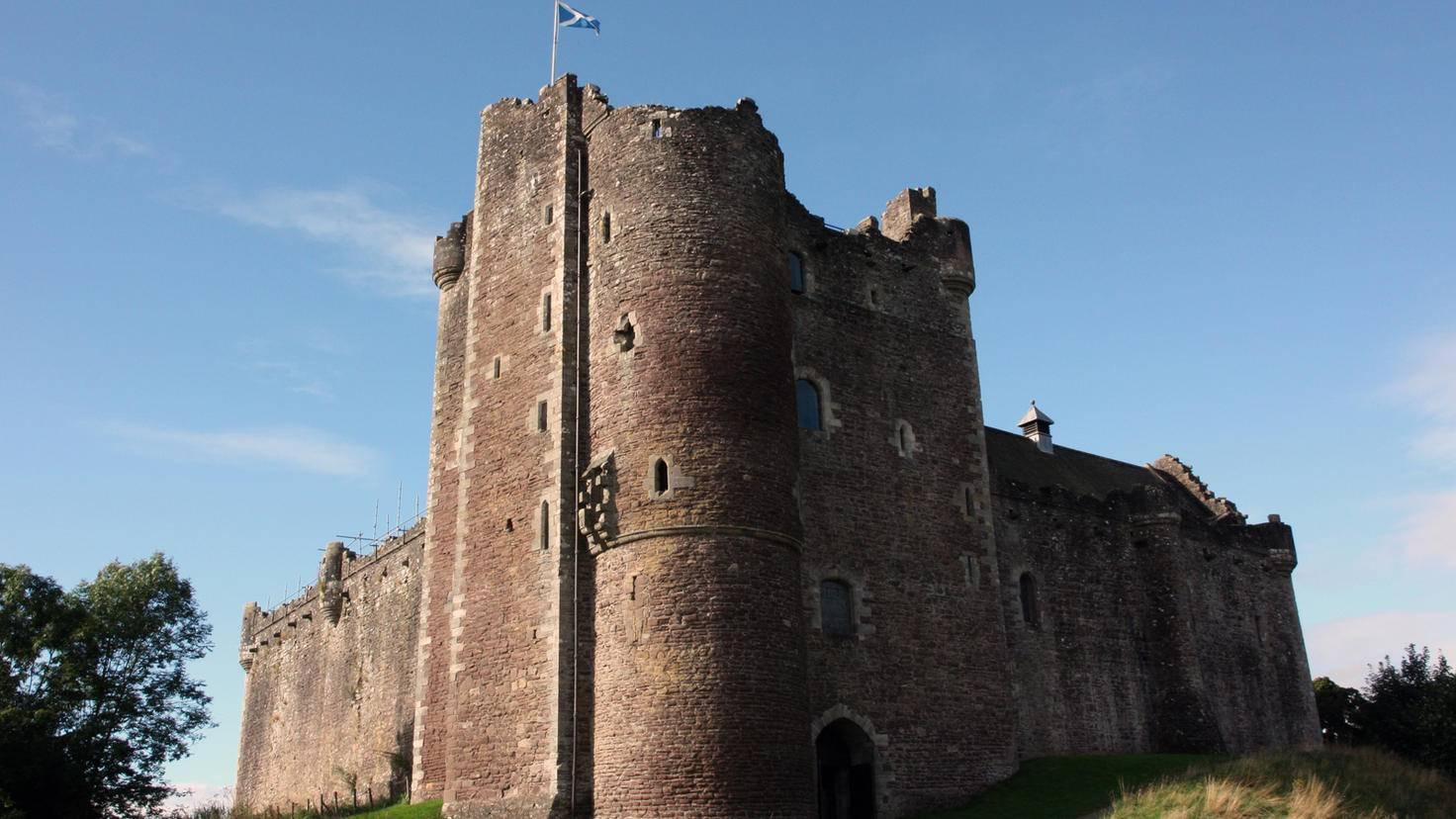 """In """"Game of Thrones"""" wird das schottische Castle Doune zur Festung Winterfell. Auf diesem Bild fehlt eigentlich nur noch der Schnee."""
