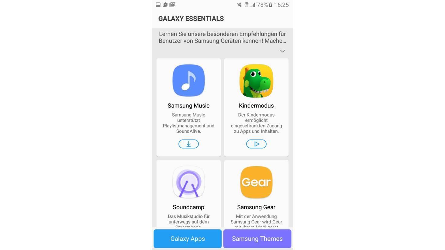 Galaxy A3 2017 Galaxy Essentials