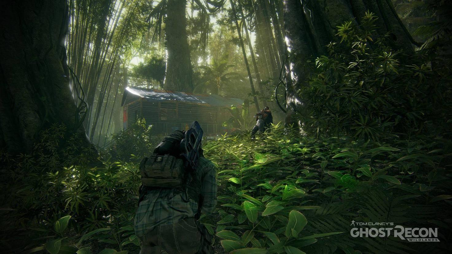 Auch im Urwald wird gekämpft.