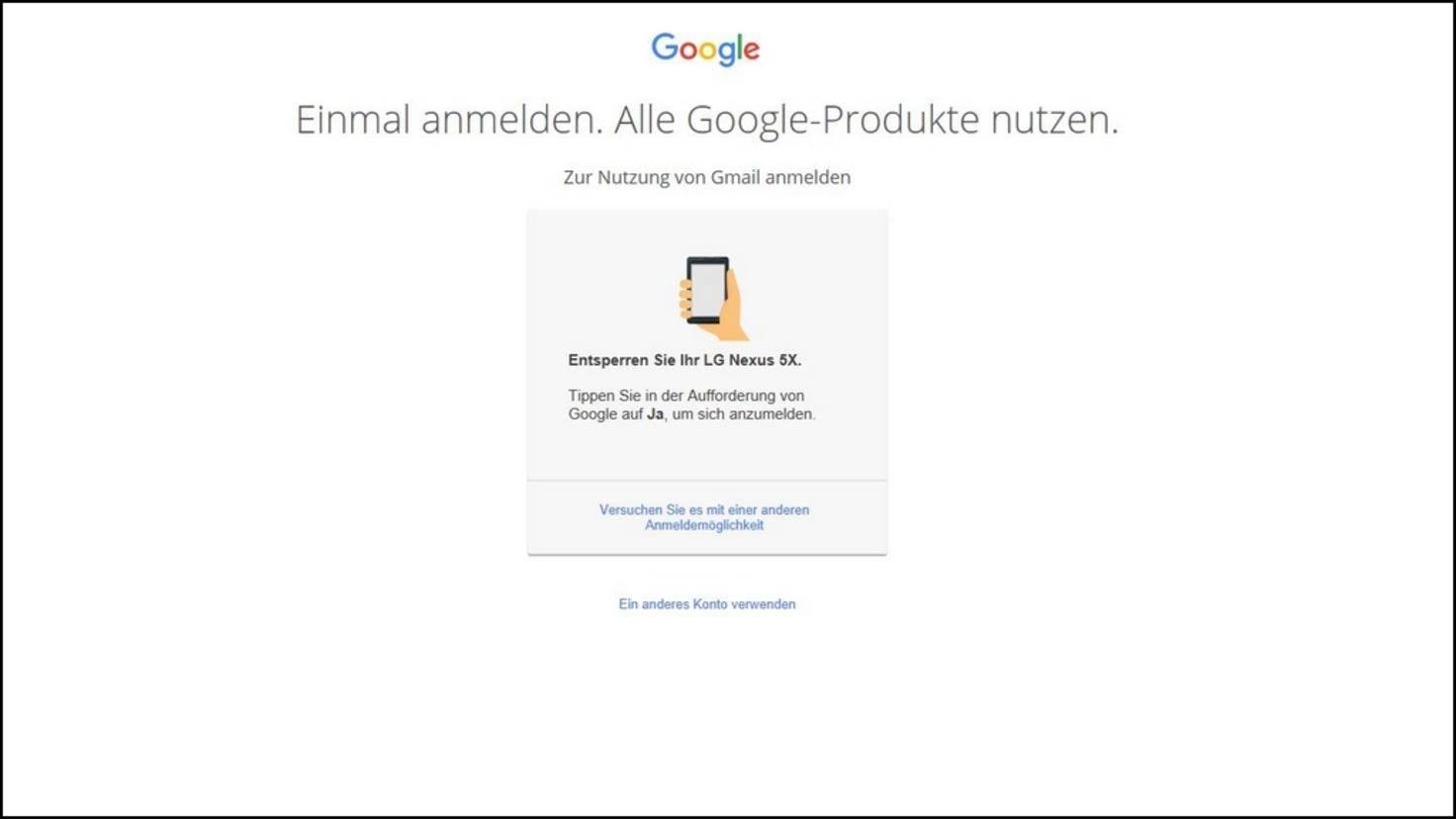 Google Konto 01