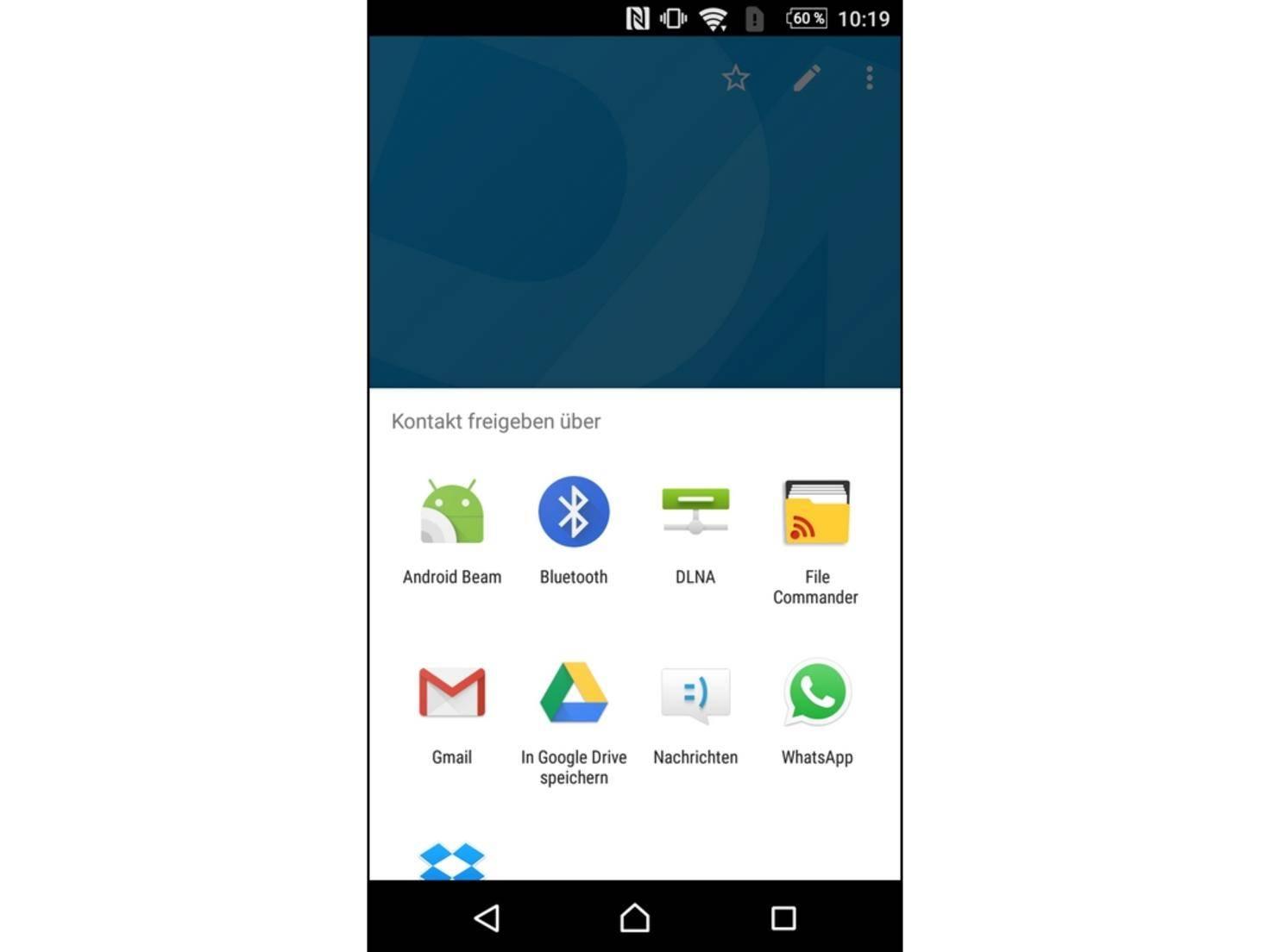 Anschließend verwendest Du Android Beam oder ein vergleichbares Protokoll wie S Beam.
