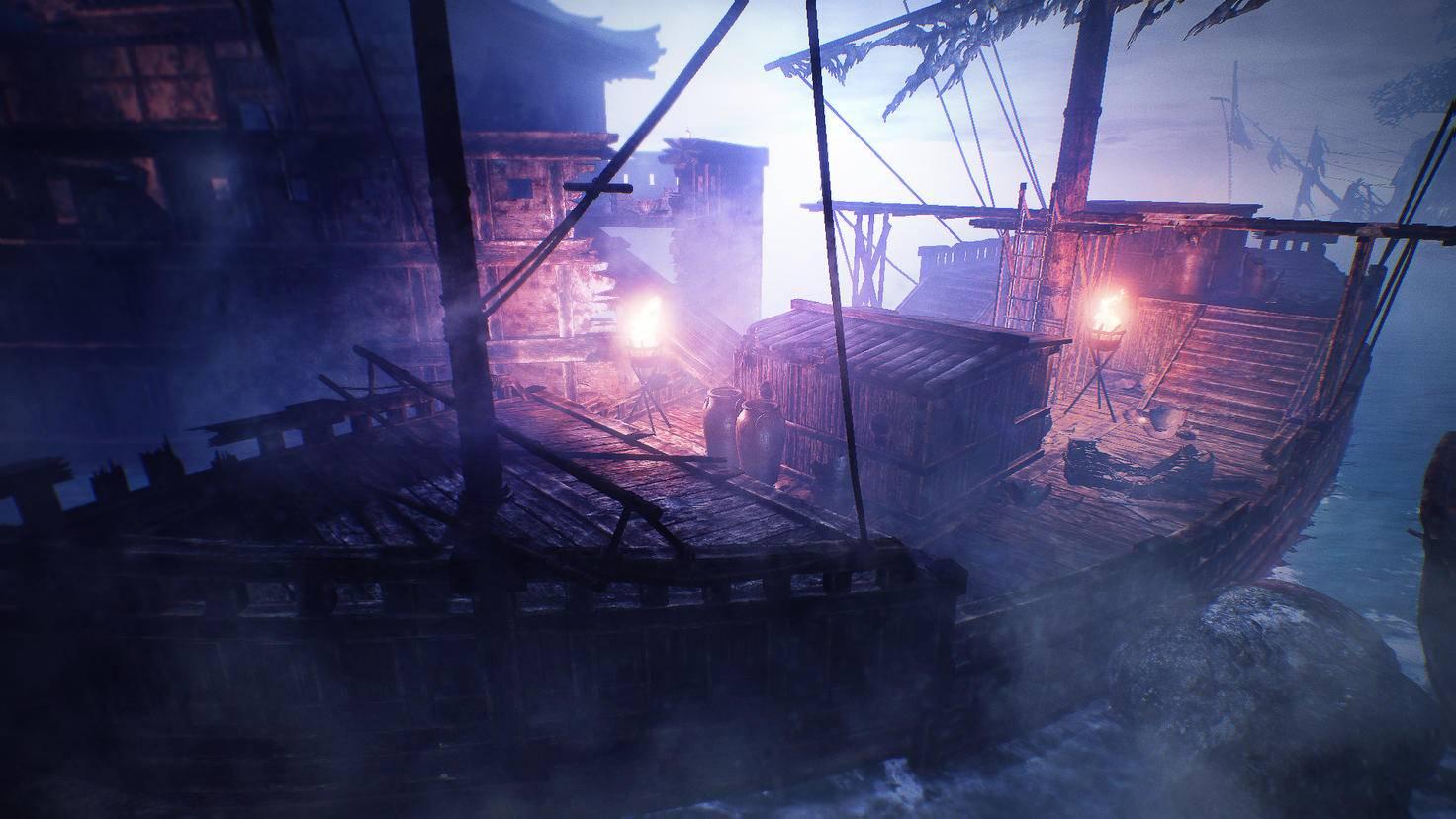 Der Weg nach Asien wurde historisch meist per Segelschiff zurückgelegt.